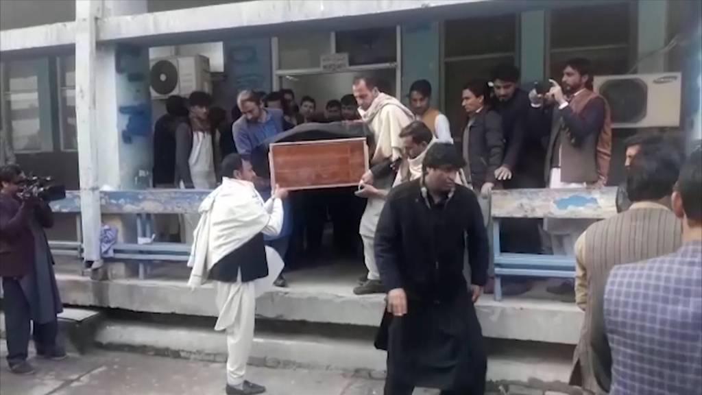 TV-Journalistin und Fahrer in Afghanistan erschossen