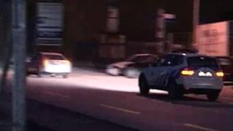 Der Stadtpolizist patrouilliert stundenlang auf der Haslistrasse