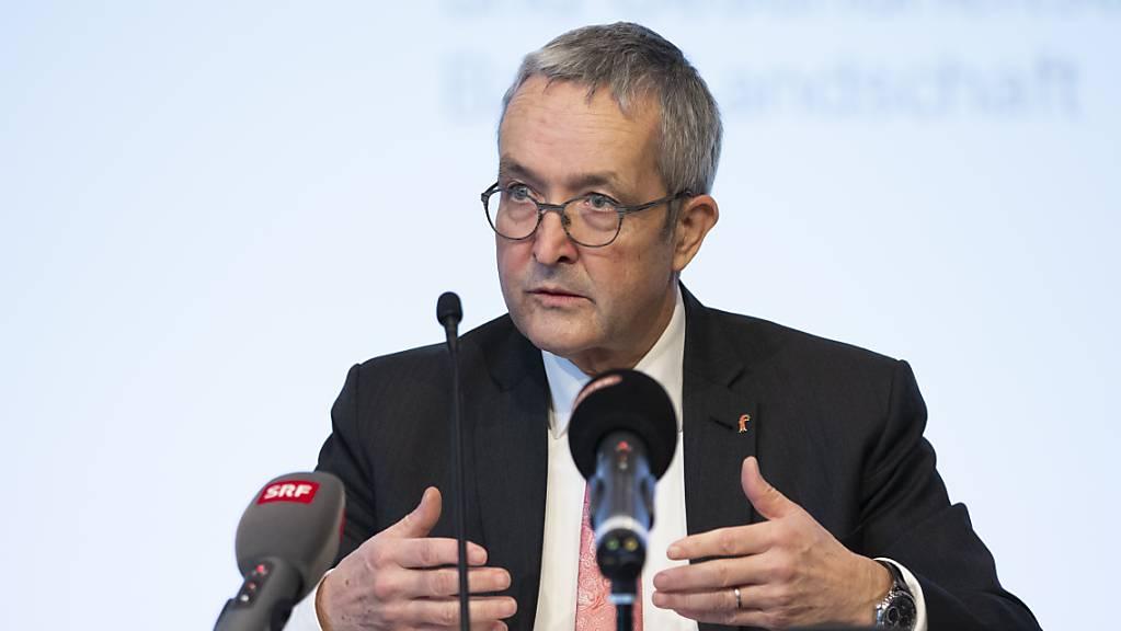 Der Baselbieter Volkswirtschafts- und Gesundheitsdirektor Thomas Weber (SVP) muss sich wegen ungetreuer Amtsführung verantworten.