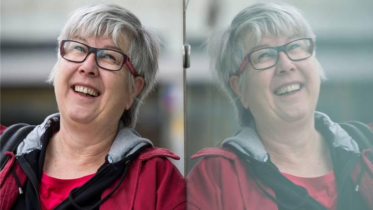 Patrizia Bertschi (59) setzt sich als Präsidentin vom Aargauer Netzwerk Asyl dafür ein, dass man Flüchtlingen auf Augenhöhe begegnet.