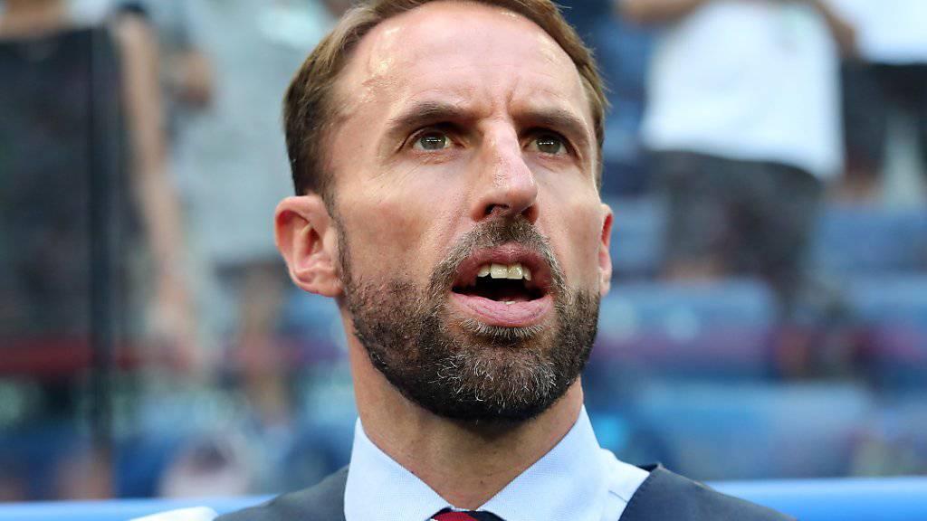Englands Nationaltrainer Gareth Southgate zählt im Testspiel gegen die Schweiz mehrheitlich auf Akteure, die im Sommer an der WM bis in die Halbfinals vorstiessen