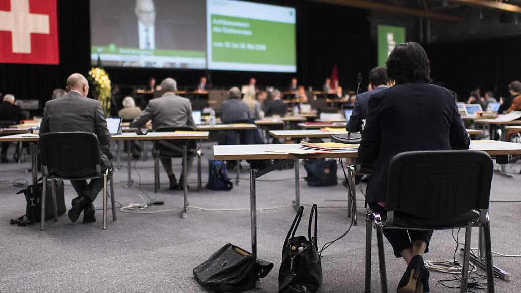 Der St. Galler Kantonsrat diskutierte am Dienstag in der Olma über den Finanzausgleich für die Gemeinden.