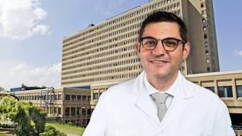 Antonio Nocito ist Chefarzt Chirurgie am KSB