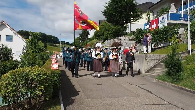Jugendfestumzug in Schinznach