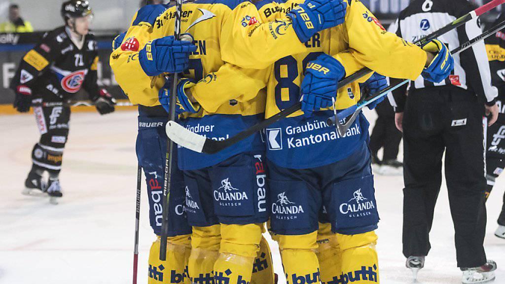 Der HC Davos hat unter dem neuen Coach Harijs Witolinsch zum Siegen zurückgefunden