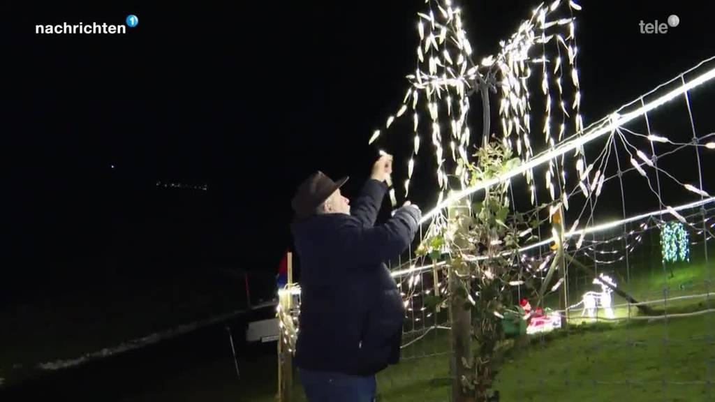 Lichtzauber in Morgarten