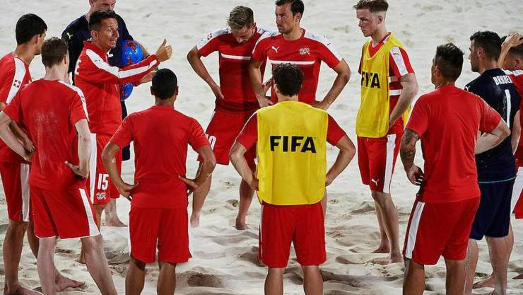 Die Schweizer Nationalmannschaft startet mit einem Sieg in die WM auf de Bahamas
