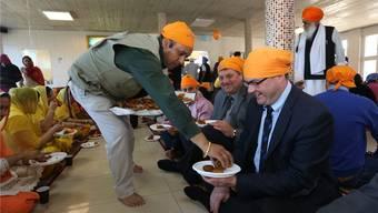 Einweihung des Sikh-Tempels in Däniken