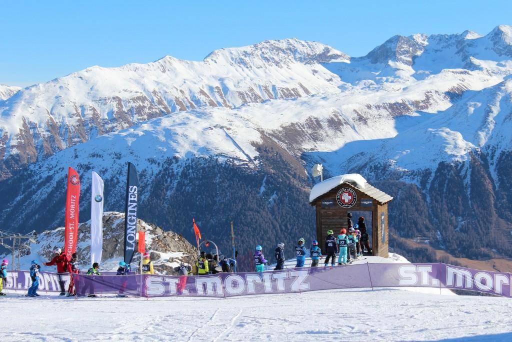 St.Moritz während der Festtage