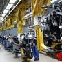 Das BMW Motorradwerk in Berlin gehört zu den ersten Werken, die vom deutschen Autokonzern nach dem Lockdown wieder hochgefahren werden. (Archivbild)