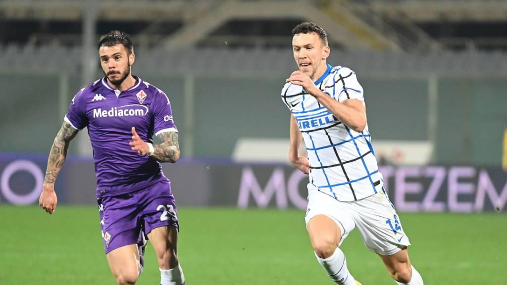Inter nach Sieg in Florenz an der Spitze