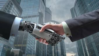 Der Handschlag mit der künstlichen Intelligenz wird ein gefährliches Abenteuer für die Menschen.