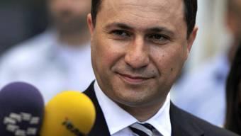 Sieger: Regierungschef Gruevski
