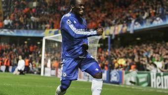 Chelseas Mikael Essien feiert seinen Treffer zum 1:1