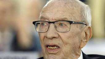 Tunesiens Präsident Beji Caid Essebsi ist im Alter von 92 Jahren gestorben. (Archivbild)