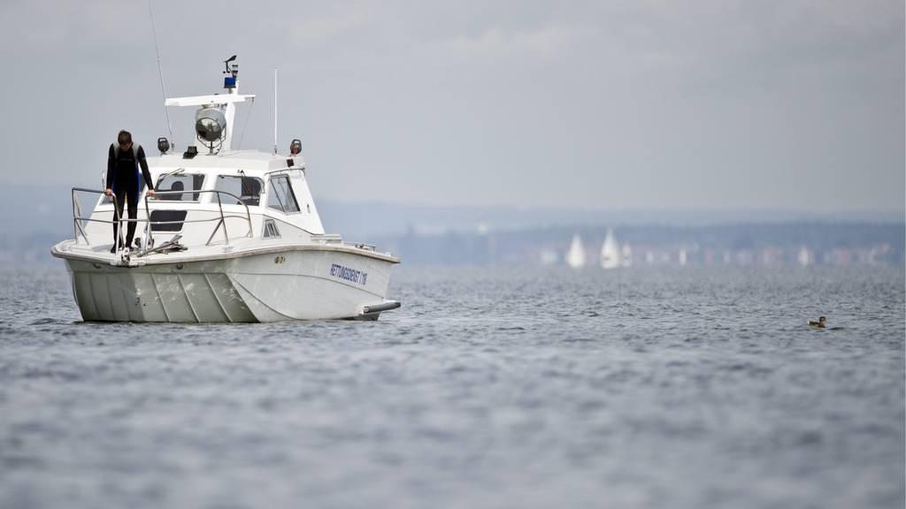 Staad: Betrunkener klaut Boot, fährt es kaputt und schläft ein