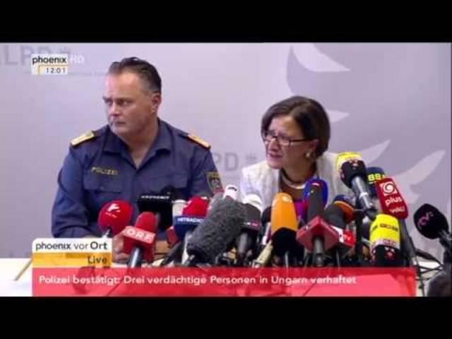 Flüchtlingstragödie: Pressekonferenz mit aktuellen Informationen am 28.08.2015