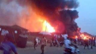 Gas-Explosion in Nigeria