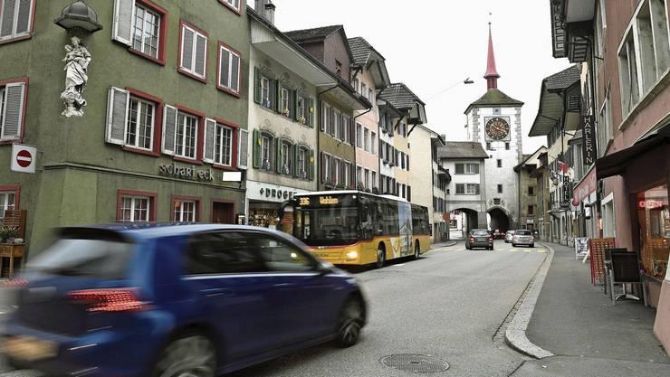 Die Mellinger Altstadt soll vom Verkehr entlastet werden.