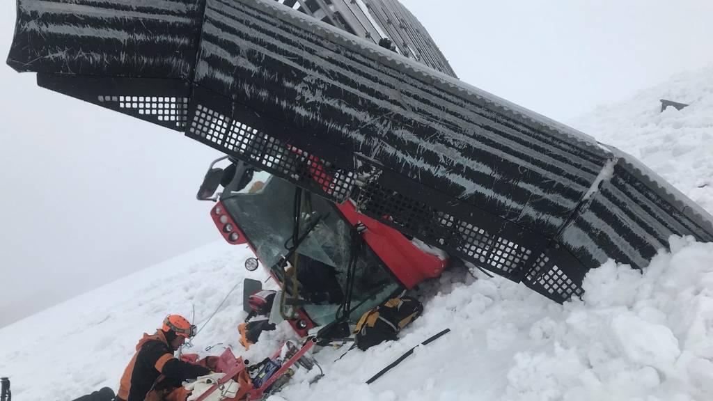Pistenfahrzeug Unfall Titlis