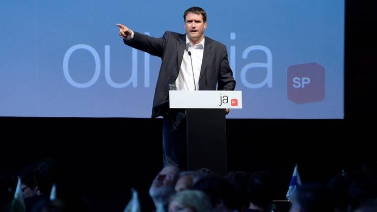 Muss mit seiner Partei viele Rückschläge hinnehmen: SP-Parteipräsident Christian Levrat.Steffen Schmid/keystone