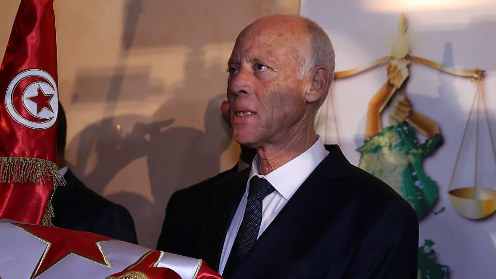 Kaïs Saïed wird neuer Präsident von Tunesien