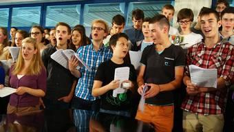Sommerserenade der Schülerinnen und Schüler der Kantonsschule Limmattal