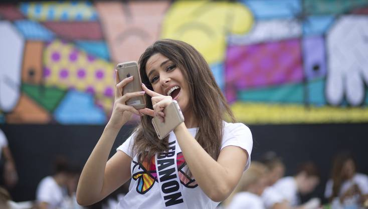 Miss Libanon Saly Greige