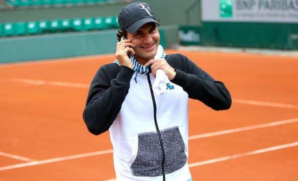 Wer hätte sie nicht gerne? Federers Handynummer.