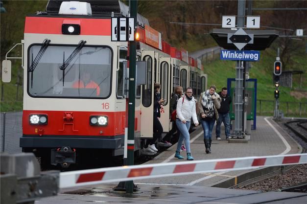 Die Waldenburgerbahn erhält neue Farben.