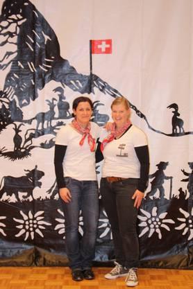 Die beiden Revueverantwortlichen:  Tschumi Renate und Flury Monika