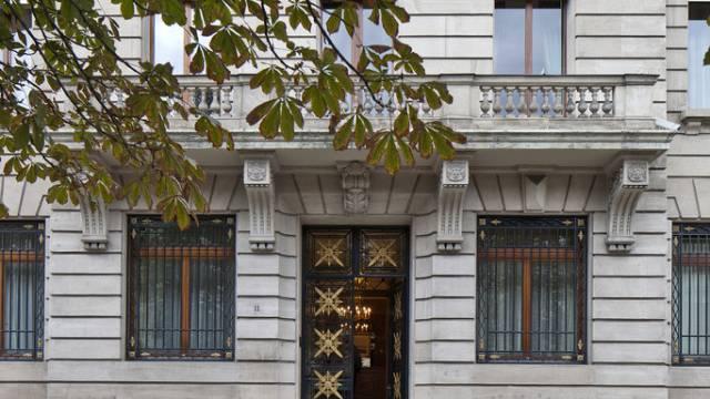 Eine Schweizer Privatbank in Genf (Symbolbild)