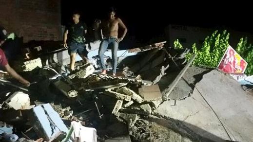 Schweres Erdbeben in Ecuador