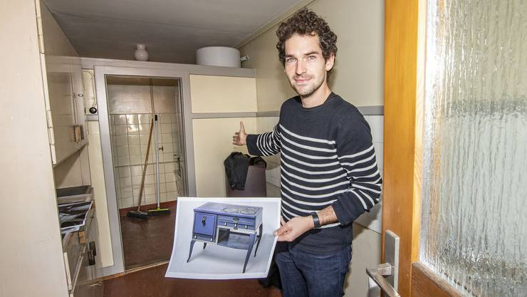Der Architekt Lukas Gruntz ist Präsident des Vereins «Ein Haus WOBA».