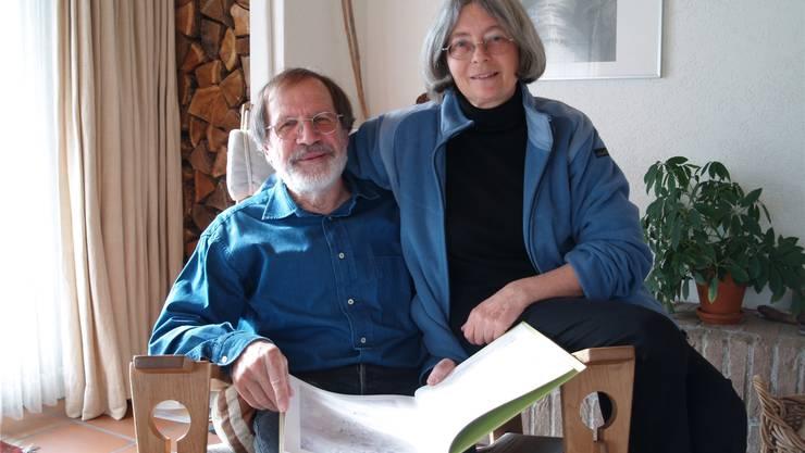 Alois und Ana Lang haben seine Fotografien und ihre Gedichte zu einem Buch verknüpft. aw/archiv