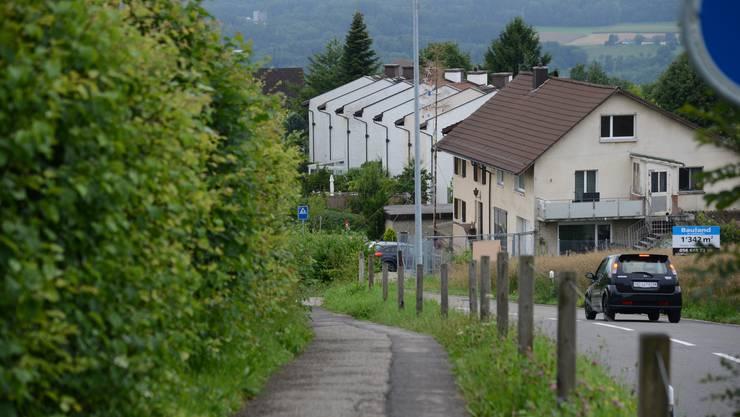 Die Hauptstrasse.