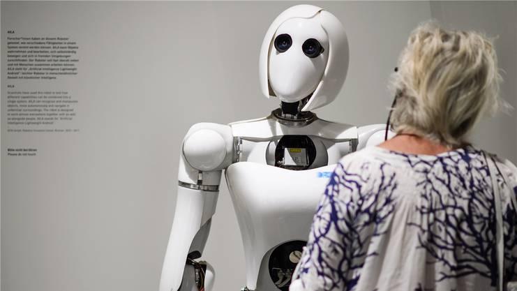 Die Zahl der Pflegeroboter wird in Zukunft voraussichtlich zunehmen.