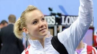 Ariella Kaeslin liess in Chiasso die Konkurrenz hinter sich