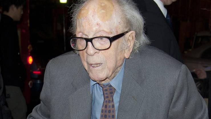 Der Filmemacher Douglas Slocombe hielt den Einmarsch der Nazis in Polen fest - jetzt ist der Brite 103-jährig gestorben. (Archiv)