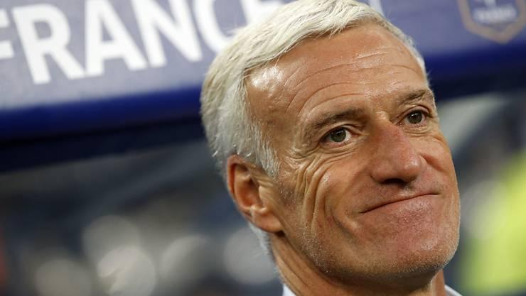 Didier Deschamps freut sich über den neuen Vertrag