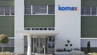 Komax profitierte 2016 von der Dynamik in der Automobilindustrie. (Archiv)