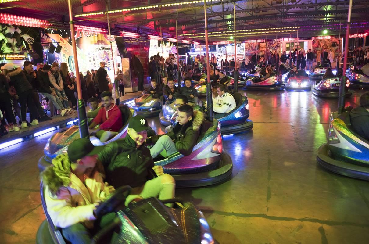 Gehört natürlich zur Chilbi: Putschiauto (hier an der Luzerner Herbstmesse 2015)