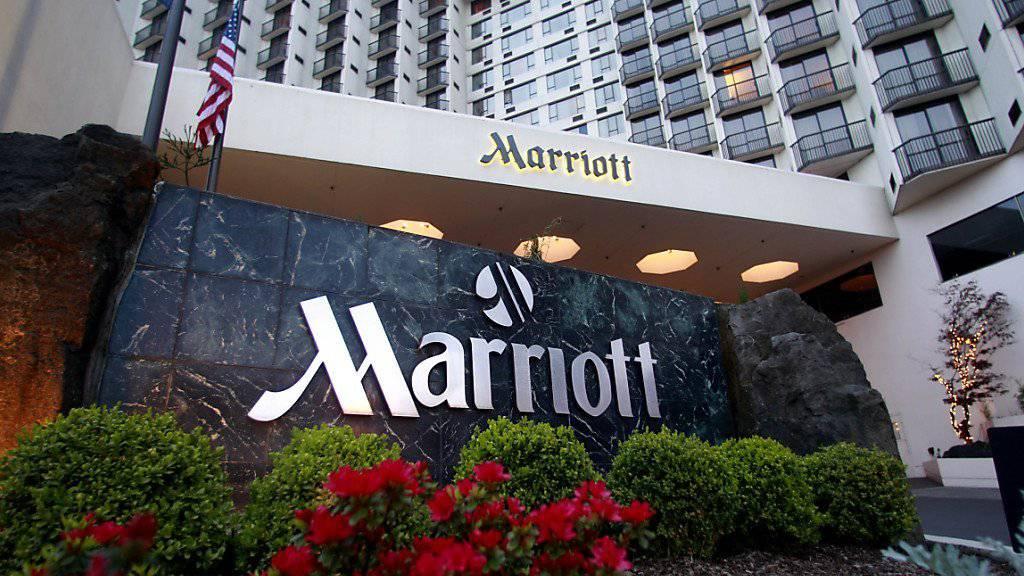 Ein Marriott-Hotel in Portland, USA. Der Hotelkonzern kauft den Konkurrenten Starwood. Dadurch entsteht der grösste Hotelkonzern der Welt.