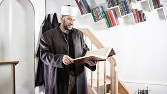 Imam Bekim Alimi in der Moschee von Wil SG.
