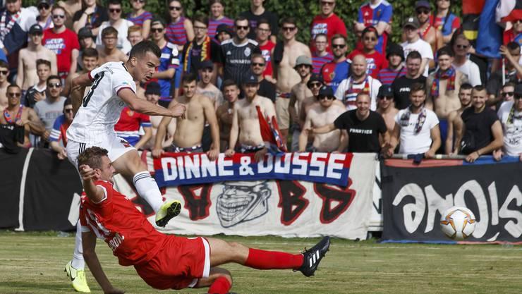 Der FCB gewinnt dank drei Toren von Kevin Bua 4:1 in Pully.