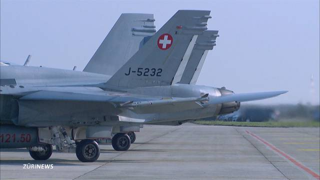 Schweizer Luftwaffe stark eingeschränkt