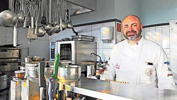 Liebt frische, einheimische Produkte: Daniel Pittet, Geschäftsführer und Küchenchef im Bad Lauterbach