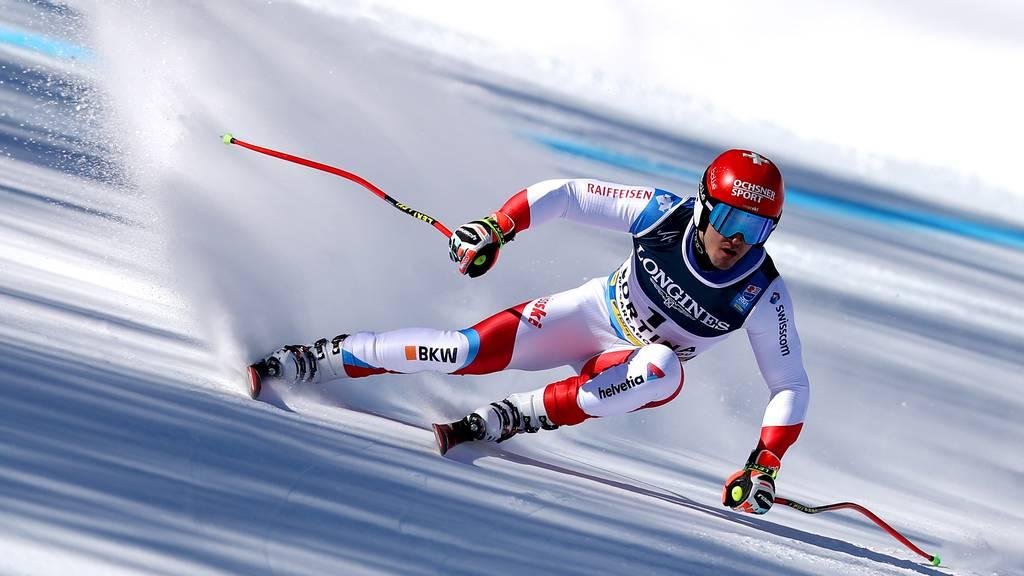 Loïc Meillard holt in der WM-Kombi Bronze