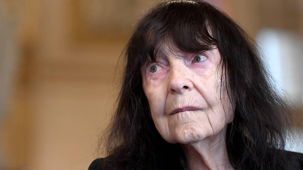 ARCHIV - Friederike Mayröcker ist tot. Die Schriftstellerin starb im Alter von 96 Jahren in Wien. Foto: Roland Schlager/APA/dpa