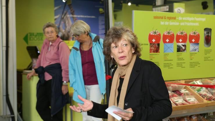 Marguerite Misteli, Solothurn, Präsidentin 2000-Watt-Region Solothurn